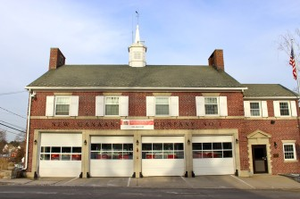 New Canaan FIre Company No. 1, on Main Street. Credit: Terry Dinan