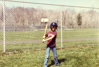 Kendra Munger, Ontario. At the old ballfields behind Saxe Middle School (pre-Dunning). Contributed photo