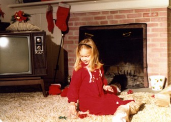 Kendra during Christmas on Horton Lane. Contributed photo