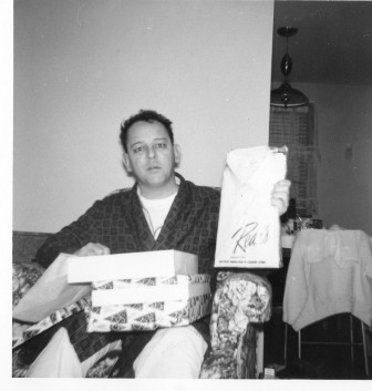 Ray on Christmas, 1960. Contributed photo