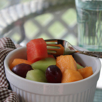 Fresh fruit salad. Credit: FreshDine
