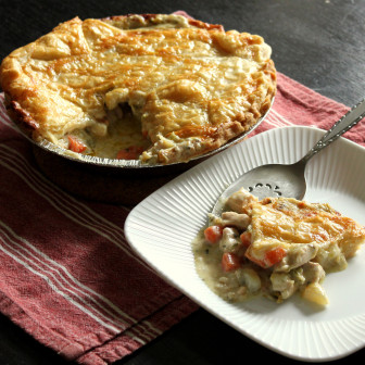 Chicken pot pie. Credit: FreshDine