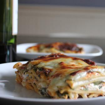 Spinach lasagna. Credit: FreshDine