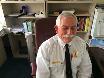 New Canaan Fire Marshal Fred Baker. Credit: Michael Dinan