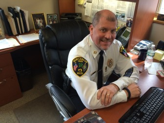 New Canaan Police Capt. Vincent DeMaio. Credit: Michael Dinan