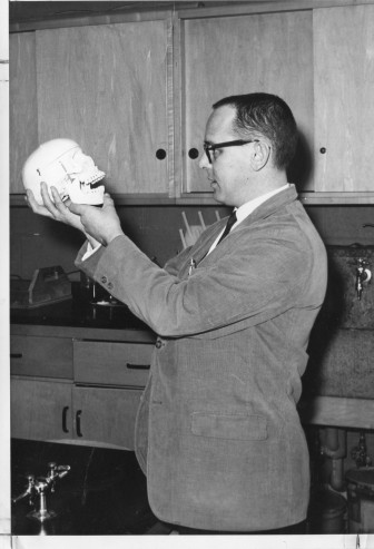 Ray Parry, a science teacher at New Canaan High School from 1959 to 1990, specialized in anatomy, physiology and biology. Contributed photo