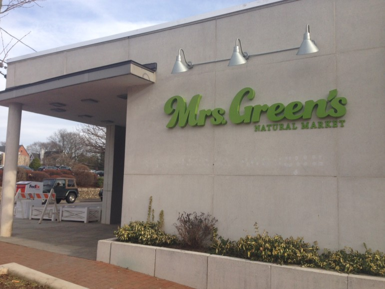 Mrs. Green's New Canaan opens Friday, April 18 on the corner of Park and Pine Streets.