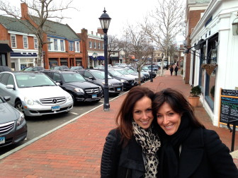 Tina Kramer (L) and Shawnee Knight (R) met in New Canaan as Oenoke Ridge Road neighbors. Last year, they launched a local program of Blessings in a Backpack, which sees weekend bags of food go to kids on reduced or free meal plans at their schools. Now, the pair has created Filling in the Blanks, a new nonprofit that takes that model and extends it through the summer and to more places.