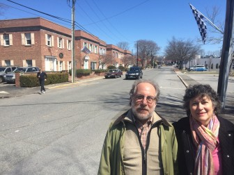In fighting for preservation of the Jelliff Mill structure and historic home up the hill nearby, Carl and Rose Rothbart opposed development plans at 41 and 47 Jelliff Mill Road.