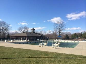 Waveny Pool, photographed April 9, 2014.