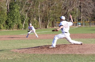 David Giusti earned the win in New Canaan's 9-0 victory over New Fairfield.