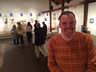 Shawn Webb, manager at Ten Thousand Villages in New Canaan