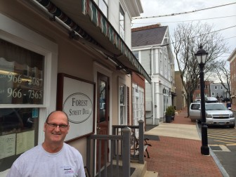 Bob Watters has owned Forest Street Deli for nearly 22 years. He's closing his doors April 18, as construction gets underway on a new mixed retail-and-residential complex. It's unclear whether he'll reopen in it.