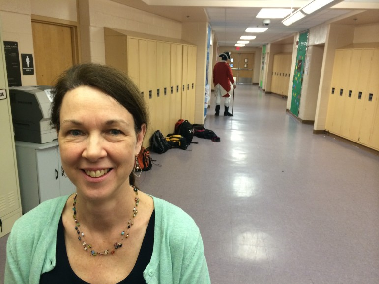 Mary Hanna, K-8 social studies coordinator for New Canaan Public Schools. Credit: Michael Dinan