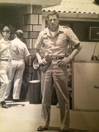 Creighton Conner in Vietnam, ca. 1964. Contributed photo