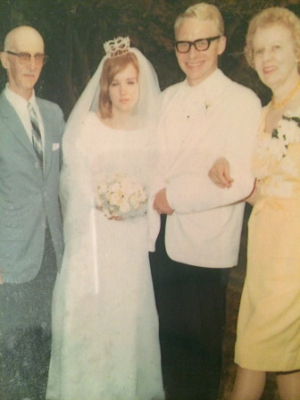 "William B. ""Pop"" Conner (far left) at his granddaughter Sandra's wedding day in 1967. Contributed photo"