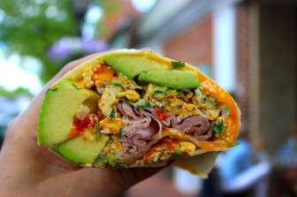 Rosie's Superico Burrito.
