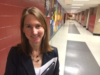 Kristine Woleck takes the reins at East School from popular longtime Principal Bunny Potts, starting July 1.