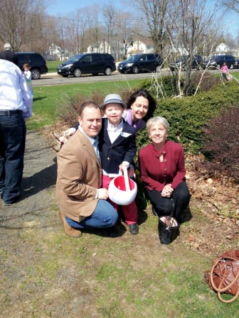 The Blackwell family on Easter Sunday at Grace Community Church. Contributed photo