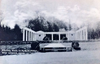 An old postcard of the wading pool (Contributed).
