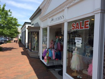 Littlejohn's children's clothing store on Elm Street is closing at the end of July 2014 after 24 years in New Canaan. Credit: Michael Dinan