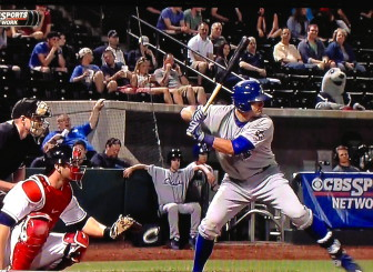 Casali at the plate earlier this season for the Durham Bulls.