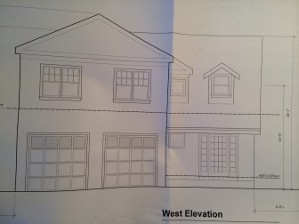 Plans for 61 Parade Hill Road, New Canaan.