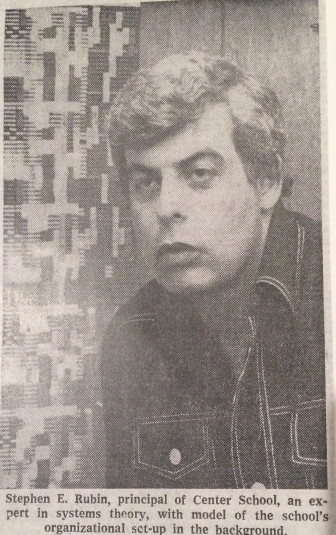 Dr. Stephen Rubin in a 1976 New York Times newspaper clipping. Courtesy of the New Canaan Historical Society.