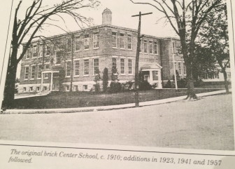 The rebuilt Center School, ca. 1910. Courtesy of the New Canaan Historical Society.