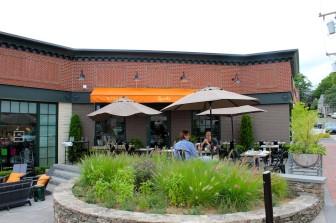 Locali's patio. (Credit: Terry Dinan)