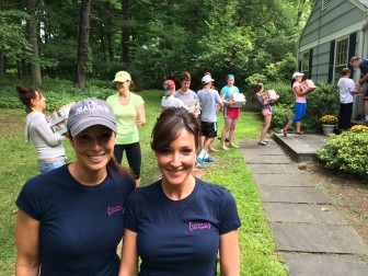 New Canaan's Tina Kramer and Shawnee Knight, co-founders of Filling in the Blanks. Credit: Michael Dinan