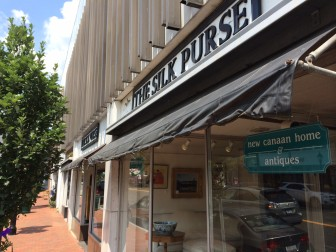 The Silk Purse at 118 Main St. will close in September, officials say, after 41 years in New Canaan. Credit: Michael Dinan