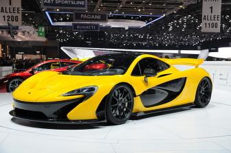 A McLaren, photo from the Geneva Motor Show 2013, by Norbert Aepli, Switzerland/Wikimedia Commons