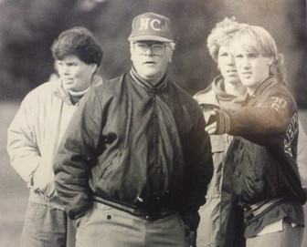 New Canaan's legendary cross country coach, Bob Mosley. Credit: Contributed