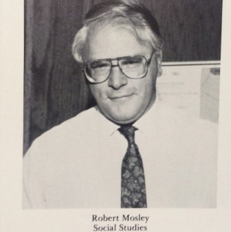 Mosley was a popular Social Studies teacher at NCHS for more than 30 years. Credit: Contributed