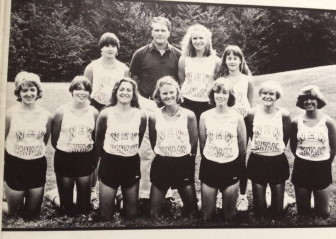 Mosley coached both the boys and girls cross country teams during his tenure at NCHS. Credit: Contributed