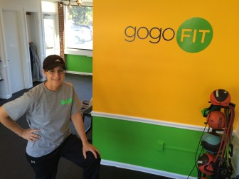Sue Teoli opened Go Go Fit at 162 Main St. this month. Credit: Michael Dinan