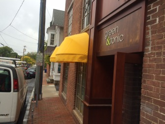 Green & Tonic is slated to open on Burtis Avenue next week. Credit: Michael Dinan