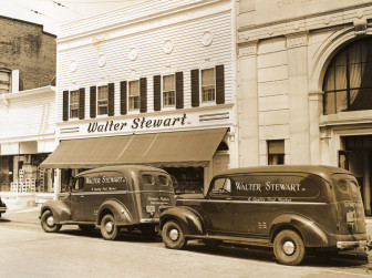 Walter Stewart's when it was down on Main Street. Contributed
