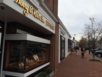 Henry C Reid & Son Jewelers on Elm Street. Credit: Michael Dinan