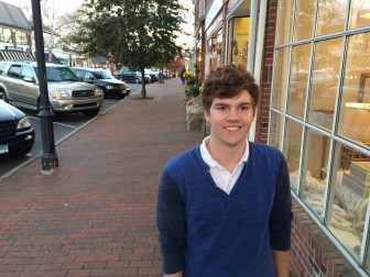New Canaan's Nicholas Smith is a King Low Heywood Thomas senior in his fourth year as a member of the New Canaan Community Foundation's Young Philanthropists program. Credit: Michael Dinan