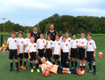 New Canaan U12 Boys Red soccer team. Contributed photo