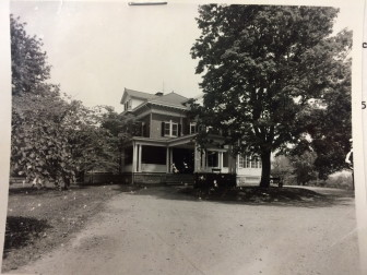 An early photo of Crajah House. Courtesy of the New Canaan Historical Society
