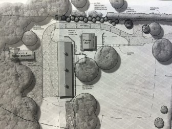 Site plan for the owners of 43 Lone Tree Farm Road.