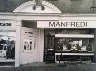 A rendering of what the new Manfredi sign at 72 Elm St. would look like.