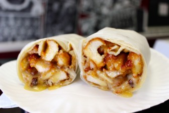 The College Wrap, Chicken Joe's. Credit: Terry Dinan