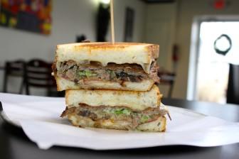 The Eclectic Cheeseteak. Credit: Terry Dinan