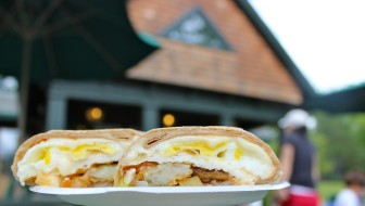 "The ""Mead Park Breakfast Wrap"" is an anchor on the lodge's menu, and earned a ""Best Breakfast Sandwiches"" nod from Terry Dinan"
