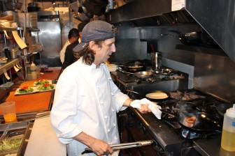 Robert Ubaldo, chef/owner of The Farmer's Table. Terry Dinan photo