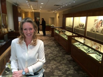 Kimberly La Du is co-owner of Manfredi Jewels at 72 Elm St. in New Canaan. Credit: Michael Dinan